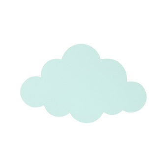 Cloud Lamp - Mint