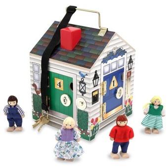 Doorbell House med klocka