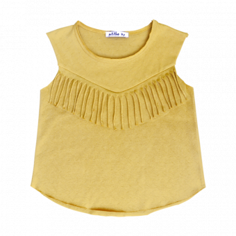 Juli Top Warm Yellow