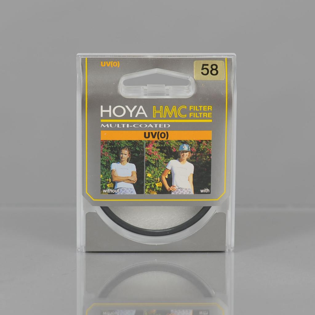 HOYA 58MM UV(0) MULTICOATED HMC FILTER