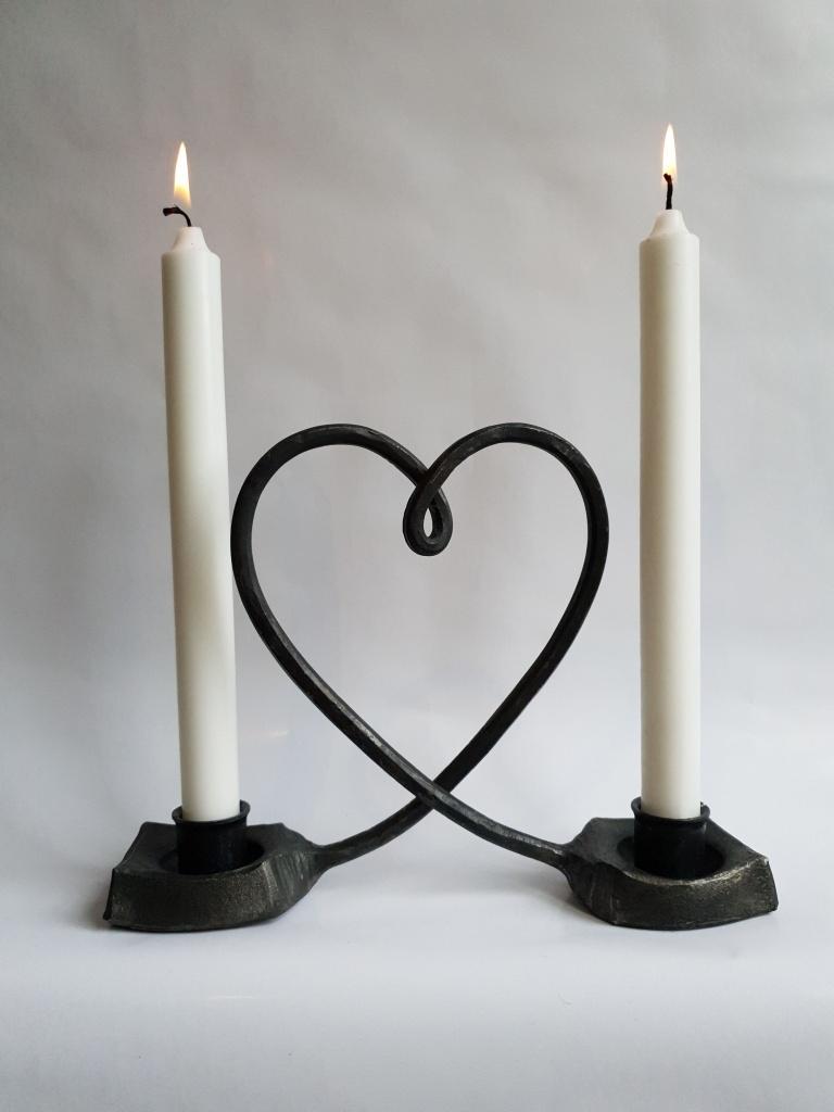 Ljusstake Hjärta
