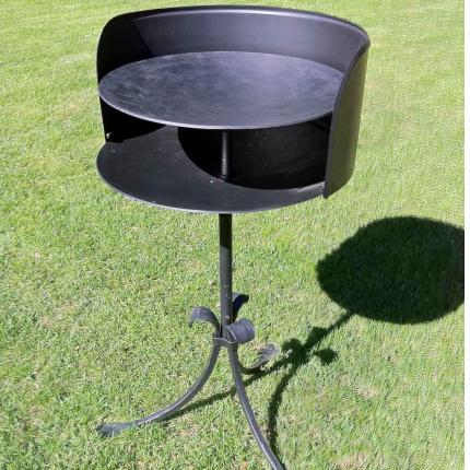 Grill, wokpanna i smide från Wägerths Konstsmide