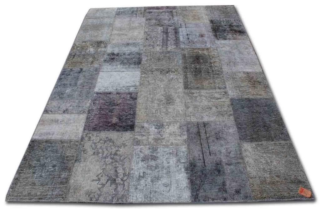 Patchwork grå 6457