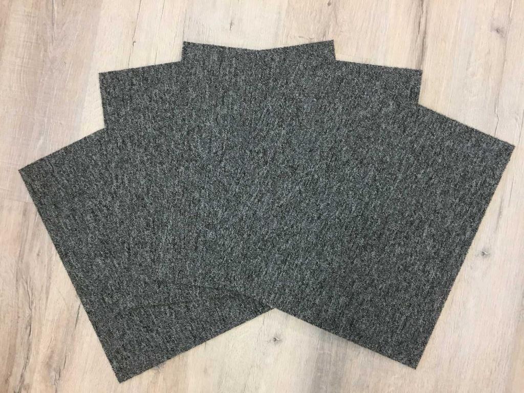 Solid plattor grå