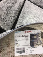 Diamond brilliance blå rund