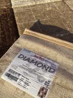 Diamond square beige