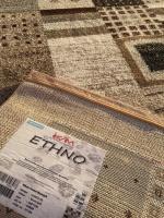 Ethno frame brun/grå
