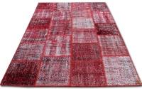 Patchwork röd 2001