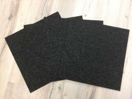 Solid plattor svart
