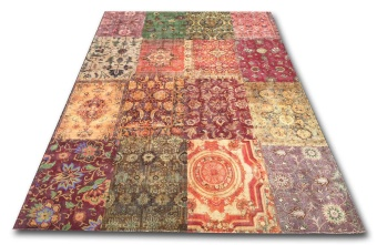 Antique patchwork
