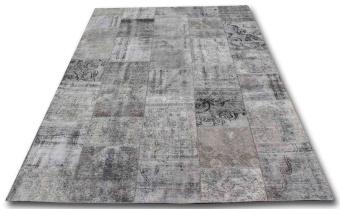 Patchwork 0863 grå 216x300