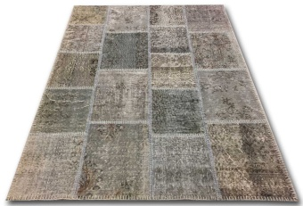 Patchwork 1851 grå