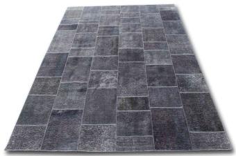 Patchwork 4224 grå 200x300