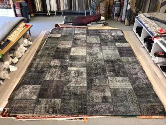 Patchwork 400229 mörkgrå