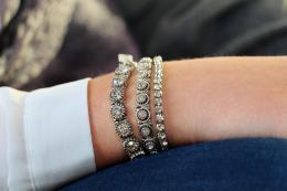 Bracelet Anastasia, silver