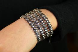Bracelet Ritzy, antique silver