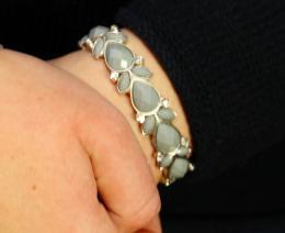 Bracelet Vanessa, grey