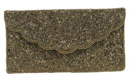 Clutch bag Lauren, gold