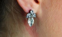 Earring Kirsten, silverc