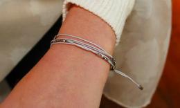 Bracelet Amy, grey