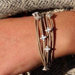 Bracelet Lucia taupe