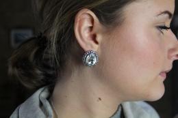 Earring Maxima, silverc