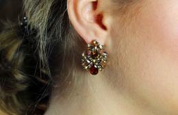 Earring Maddie, topaz