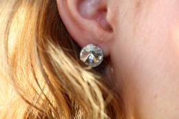 Earring Betty, silver