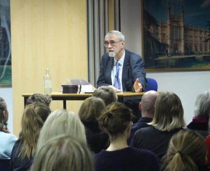 Percy Barnevik på Svenska skolan i London