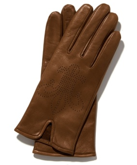 LILY GLOVE BROWN