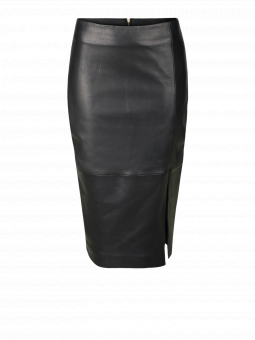 BENEDICT LEATHER PENCIL SKIRT