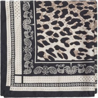 Game leopard scarf