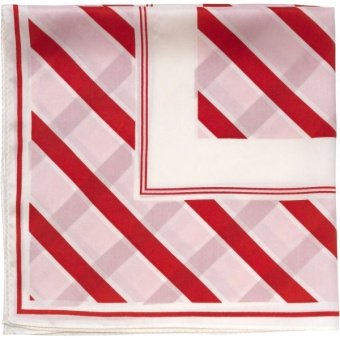 Home Silk Stripe Scarf