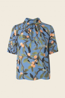 Missy Top - Peach Tree Blue