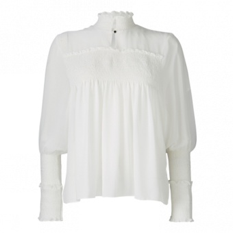 Smock stitched top, Gustav