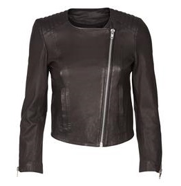 MEERA LEATHER JACKET, Mos Mosh