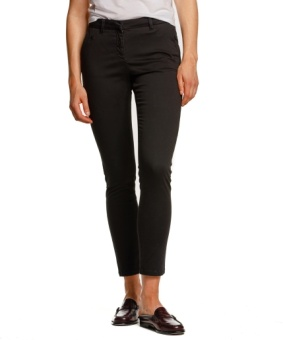 ADELIE LONG CHINO BLACK