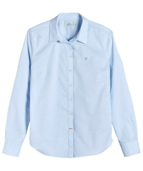 LILY OXFORD SHIRT LIGHT BLUE