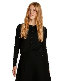 MATHILDE CARDIGAN BLACK