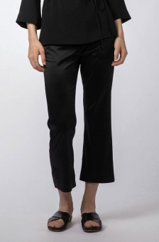 Ana cropped trousers black