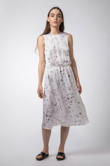 Kotone garden dress off-white
