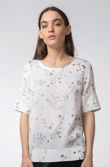 Middy garden blouse off-white