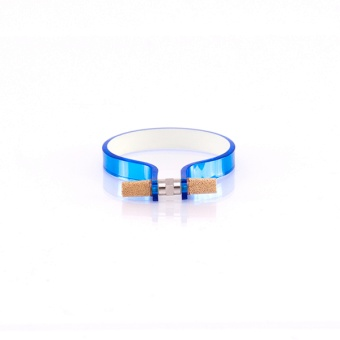 Nut Cuff 10mm Mirror Blue
