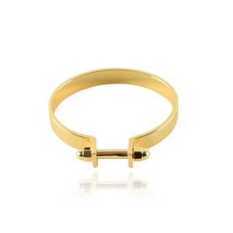 Nut Cuff Gold Plated 18k