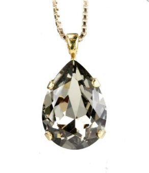 Perfect Drop Necklace / Black Diamond