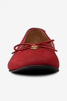 Morris naeva ballerinas red