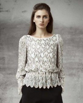 By timo Blouse - Beading