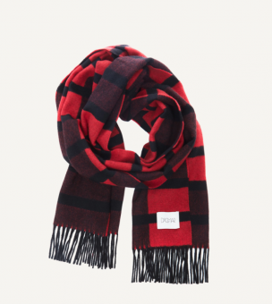 MULTI CHECK SCARF