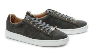 PHILIP HOG SERENA SUEDE SNEAKERS - GREY
