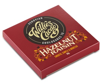 Willie´s Hazelnut & raisin 70%